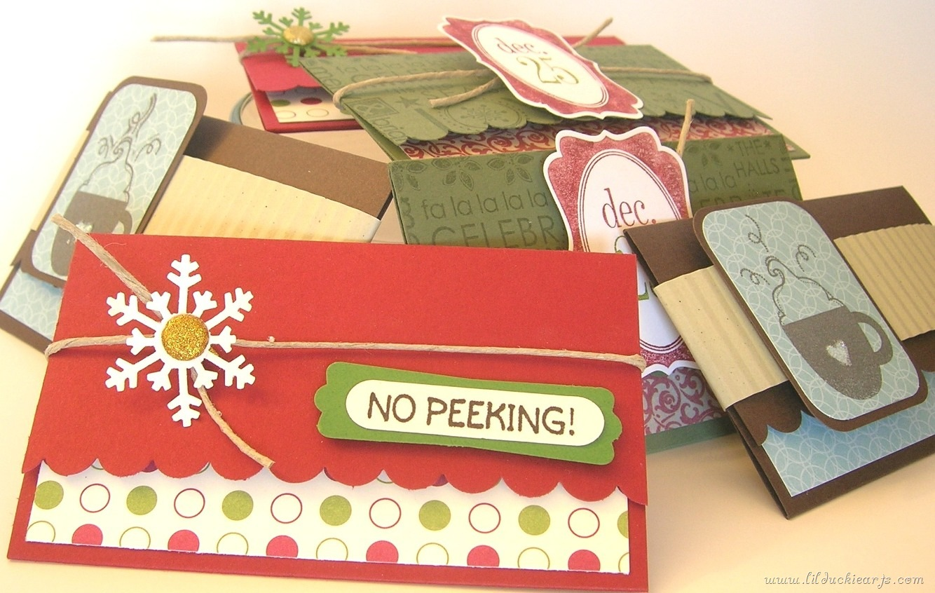 Christmas Gift Card Holders   Lil Duckie Arts